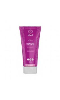 Shampooing bio Sensible Lavande - Sans sulfate - Khadi - 200 ml.