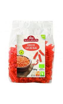Fusilli BIO aux Lentilles rouges - Natursoy - 250g