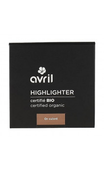 Iluminador ecológico Highlighter Or Cuivré - Avril - 11 g.