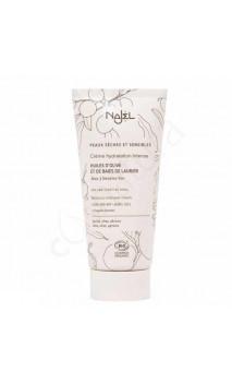 Crema facial bio hidratante intensa - Oliva & bayas de laurel - Seca & Sensible - Najel - 50 ml.