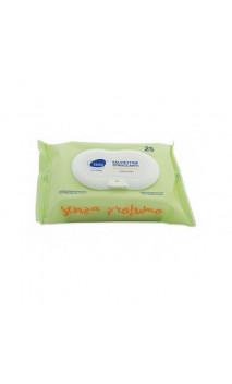 Toallitas desmaquillantes ecológicas Suaves - Sin perfume - Bjobj - 25 ud.