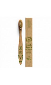 Brosse à dents bambou enfant - Sol natural - 1 unité