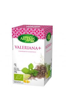 Infusión Valeriana BIO - Complemento Alimenticio Relajante - Artemis Bio - 20 bolsitas