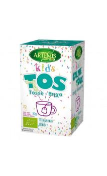 Tisane BIO Kids Toux - Complément alimentaire  - Artemis Bio - 20 sachets