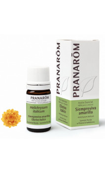 Huile Essentielle naturelle Immortelle - Pranarôm - 5 ml.