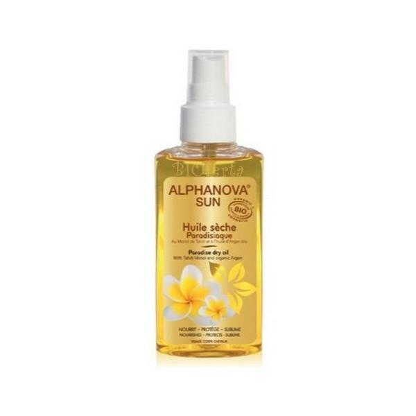 huile sèche paradisiaque Alphanova Sun