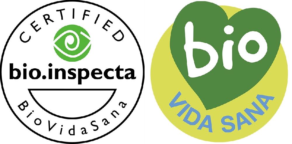 label Vida Sana BIO Inspecta Cosmétique BIO et naturelle