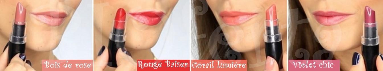 colores barras de labios ecológicas So'Bio étic