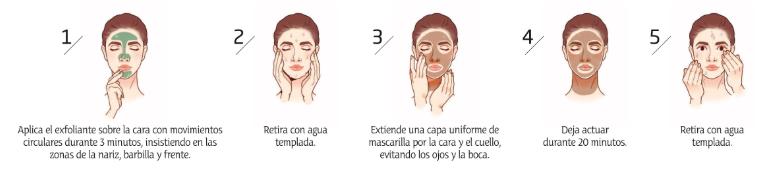 exfoliante facial ecológico coco lima piel grasa mixta amapola biocosmetics