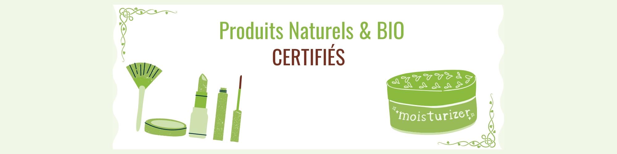 Cosmétique Naturelle et bio certifiée
